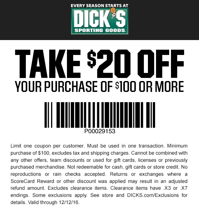 Does golf gallery accept dicks sports discount coupons